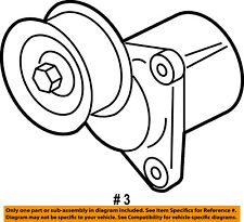 FORD OEM-Serpentine Fan Belt Tensioner 6E5Z6A228B