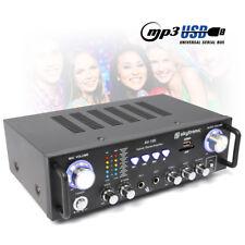 Skytronic AV Karaoke Amplifier DJ PA Party Mini HiFi Amp MP3 Microphone Inputs