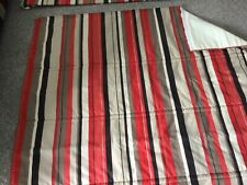 Striped Roman Blind . Lined 130 Cm Wide X 118 Drop. For Collection