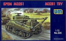 Um-Mt Models 1/72 American M32B1 Tank Recovery Vehicle