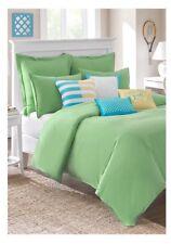SOUTHERN TIDE Skipjack Chino 100% Cotton  Kiwi Green Twin XL Comforter 68x90 New