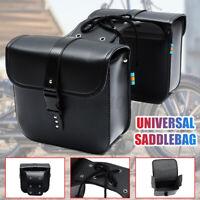 2x Universal Motorrad Satteltasche Seiten Gepäcktasche Werkzeugtasche Für Honda