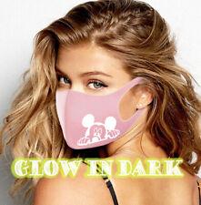 fashion face mask glitter sparkly washable Reusable designer covering Disney