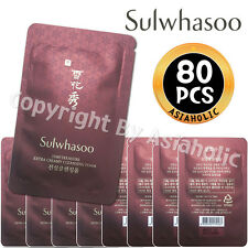 Sulwhasoo Timetreasure Extra Creamy Cleansing Foam 5ml x 80pcs (400ml)Sample New