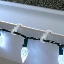Holiday Time 100 Gutter/Shingle Hooks Christmas Light Holder Clips Lighting Deco