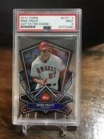 2013 Topps Cut To The Chase #CTC-1 Mike Trout Die Cut Angels PSA 9 MINT 💥💥