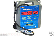 30 lb Portable Air Sandblaster Air Tools Sand Blaster with hose and gun 5ft hose