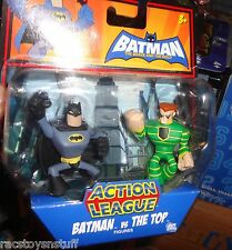 BATMAN BRAVE AND THE BOLD ACTION LEAGUE FIGURES BATMAN VS THE TOP MOC
