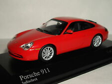 MINICHAMPS PORSCHE 911 2001 RED 1/43