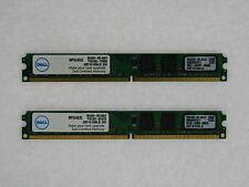 DELL 4GB (2GBX2) DESKTOP MEMORY PC2 6400 800MHz NON-ECC DDR2 SNPYG410C/2G NEW