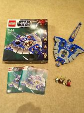 Lego Star Wars Gungan Sub (9499) jeu complet boîte et instructions de la reine Amidala
