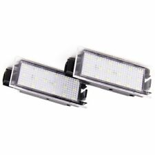 2Pcs Car LED Number License Plate Light For Renault Megane 2 Clio Laguna 2 M M3L