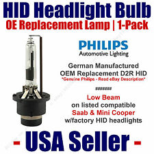 HID Headlight Low Beam GENUINE German PHILIPS fits Select Saab & Mini Cooper D2R