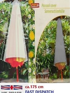 PARASOL PROTECTIVE WATERPROOF COVER HIGH QUALITY POLYETHYLENE COVER 175 cm