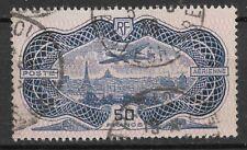 France 1936 Poste Aérienne N°15 AVION SURVOLANT PARIS  Oblitéré TBE