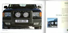 Range Rover Accessories 1999-2000 UK Market Sales Brochure