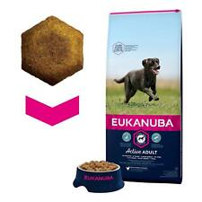 Eukanuba Large Breed Active Adult Dog Dry Food Rich in Chicken 12 kg Bag NEW