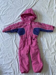 OUT OF BOUNDS GIRLS SZ 2 YRS SKI/ SNOWBOARDING SKI SUIT/ALL IN ONE/JACKET/PANTS
