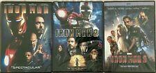Iron Man 1, 2, & 3 DVD ( COMPLETE TRILOGY ) Brand New