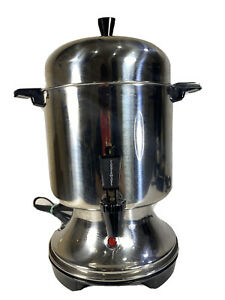 Farberware Automatic Coffee Percolator Urn Stainless 10-22 cup Coffee Maker