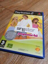 Playstation 2 ps2 Spiele Singstar Popworld komplette manuelle Familie Kinder Spaß frei.