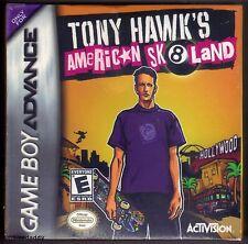 Gba TONY HAWK'S AMERICAN SK 8 tierra (2005) totalmente nuevo y sellado de fábrica