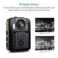Boblov Mini Police Body Worn Camera DVR HD 1296P IR Night Vision 170° Waterproof