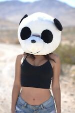 PANDA Plush Helmet Mascot Head Costume Japan Animal Cosplay Halloween USA SELLER