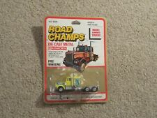 Road Champs Kenworth Tractor Cab Truck Yellow MOC