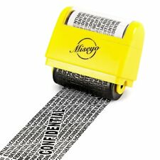 1.5 Inch Wide Privacy Protection Roller Stamp Identity Theft Id Guard