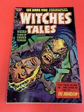 """WITCHES TALES # 21 (1953) """" RAPE STORY """" HARVEY - PRE-CODE COMIC BOOK"""