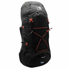 Karrimor Leopard 65+5 Litre Rucksack Walking Backpack Bag Holdall Black/Red