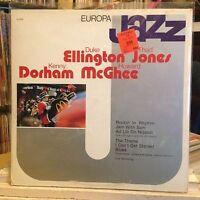 [SOUL/JAZZ]~NM LP~DUKE ELLINGTON~THAD JONES~KENNY DORHAM~MCGHEE~Europa Jazz~#39