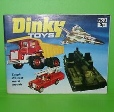 Dinky / 1973 No 9 Catalogue