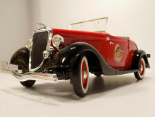 Solido Coca Cola 1934 Roadster Ford V8 1:18 Scale Die Cast Made in France NOS