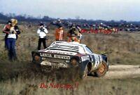 Markku Alen Lancia Stratos HF RAC Rally 1978 Photograph 3