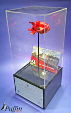 More details for poppy display cases (displayed on its stem)