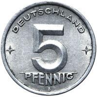 DDR - Münze - 5 Pfennig 1948 A - Münzstätte Berlin