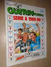 ALBUM CALCIATORI GUERIN SPORTIVO 1989-90 1990 VUOTO PERFETTO DA EDICOLA