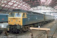 British Rail Class 47 47446 Liverpool Lime Street 29/05/85 Rail Photo