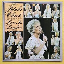 Petula Clark - Live In London - Polydor 2383-303 Ex+ Condition Vinyl LP