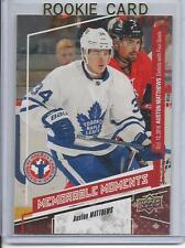 16-17 Upper Deck Auston Matthews National Hockey Card Day RC Bonus Rookie Card