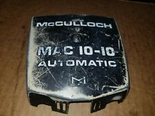 Vintage McCulloch  mac 10-10 chainsaw parts top cover carb