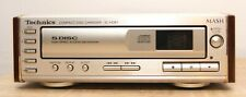 Technics Compact 5 CD Changer SL-HD81 PERFECT WORKING CONDITION  UK TESTED MINT