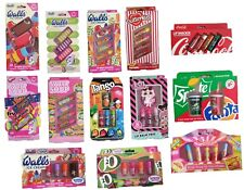 LIP SMACKER FRUITY LIP BALM - SPRITE & FANTA, COCA COLA, TANGO, LOL, SWIZZLERS