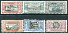 More details for italy-1923 manzon set of 6 sg 155-160 mounted mint v28609