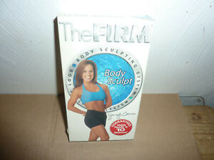 The Firm Body Sculpt Jennifer Carman VHS Video Tape Fitness Workout Exercise