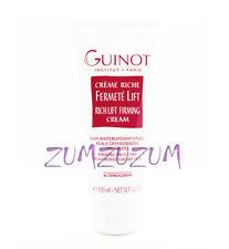 Guinot Creme Riche Fermete Lift  Rich Lift Firming Cream 100ml Salon Size