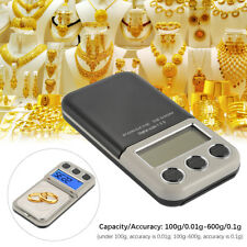 0.01G to 600 Grams Electronic Pocket Mini Digital Gold Jewellery Weighing Scale