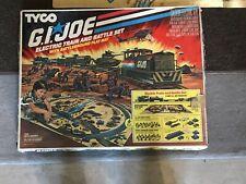 1983 Tyco GI Joe Special Forces Electric Train and Battle Set HO Scale 110v